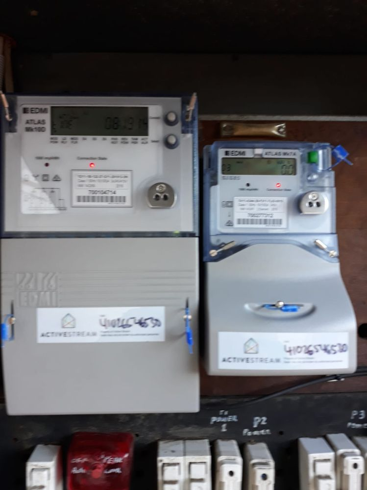 Smart Meters at Property
